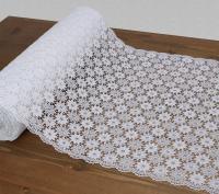 Tafelloper - bloem (wit)