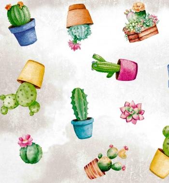 Tafelzeil - Cactus party