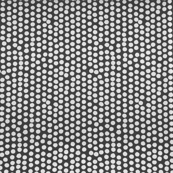 Geplastificeerd katoen - Spotty black