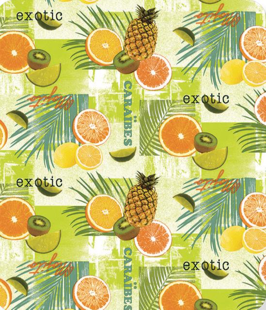 Tafelzeil - Exotic fruit