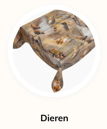 huistuinenkeukenzeil-dieren-tafelzeil
