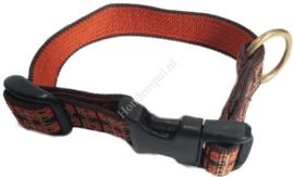 Politielijn 20 mm met bijpassende halsband