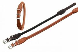 Karlie Buffalo leren halsband