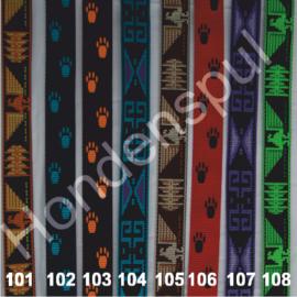 Looplijn 30 mm, 160cm met bijpassende halsband 40cm