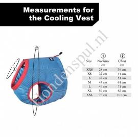Hurtta Cooling vest Maat XXS