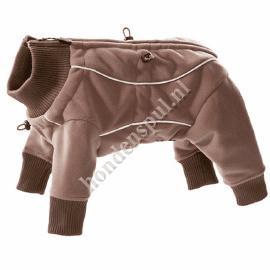 Hurtta Waterproof Fleece Overall 22 cm Bruin