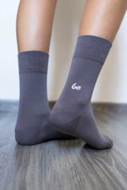 Be Lenka - Barefoot sokken met ergonomische vorm, in dun en zacht katoen - Grijs in 39/42 of 43/46
