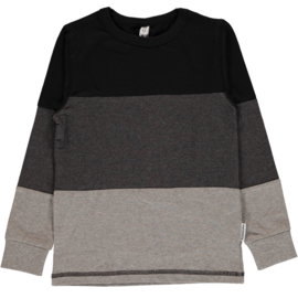 Maxomorra - Longsleeve - Grey Black
