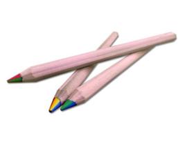 Okonorm - Regenboog potlood dik, zeshoek - 1 stuk