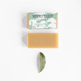 Werfzeep - Honingshampoo blok met lavendel, munt en cajeput - 100 gr