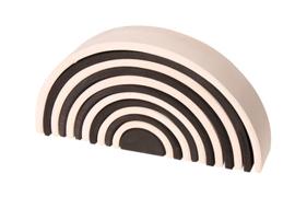 Grimm's - Regenboog / Tunnel 12 delig, zwart wit monochrome - 93050