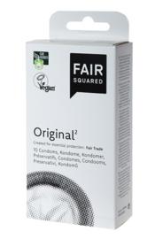 Fair Squared - Condooms Original - 10 stuks