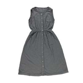 Poudre Organic - Magnolia Lange jurk zonder mouwen - Iron Gate in maat Small