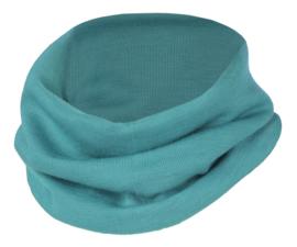 Engel Natur - Loop sjaal in wolzijde - ijsvogel blauw