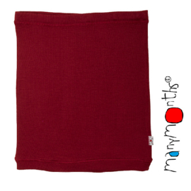 Manymonths MaM - Multitube Rok in wol of buikband of borstvoedingstop - Raspberry Red in L/XL