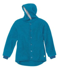 Disana - Jas in gekookte wol - Blauw