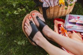 Be Lenka - Barefoot Sandalen, dames - Promenade - Zwart - maat 41