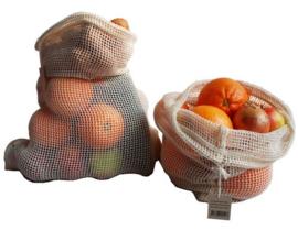 Bo Weevil - Groenten en fruit zakje Large - 38 x 28 cm