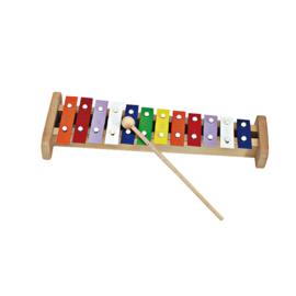 Ostheimer -  Kwalitatieve Xylofoon met mooie heldere klank - 12 latjes - 10072