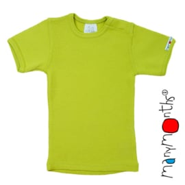 Manymonths - Short sleeve T-shirt Wol, meegroei maat - Sweet Apple