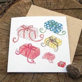 Anneko Design - Wenskaart met zaailint - Cadeautjes