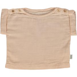 Poudre Organic - Mademoiselle T-shirt Lin met korte mouwen - Amberlight - 12 jaar