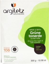 Argiletz - Groene klei superfijn - 300 gr