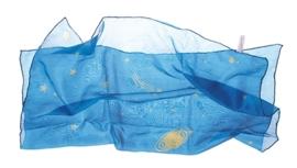 Sarah's Silks - Mini speelzijde 52x52 cm, sterrennacht - 85024