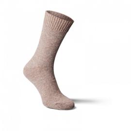 Fellhof - Alpaka wol sokken, dun - Lichtbruin - maat 35/38, 39/42, 43/46