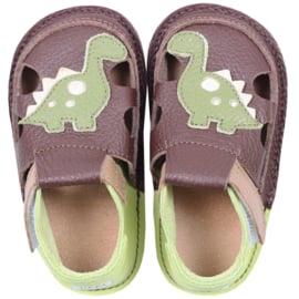Tikki Shoes  - Barefoot Sandalen - Dino T-rex - Maat 18