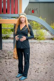 MaM Ennea - Zachte comfortabele broek (ook bruikbaar bij zwangerschap) - S/M
