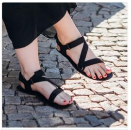 Be Lenka - Barefoot Sandalen - Flexi - Zwart - maat 40