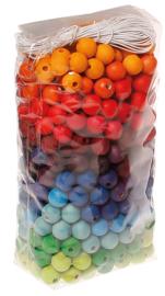 Grimm's - Gekleurde kralen, 12 mm, 480 stuks - 10270
