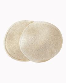 Disana - Wasbare zoogcompressen in zijde, gevuld met biologische wol - 11 cm of 14 cm