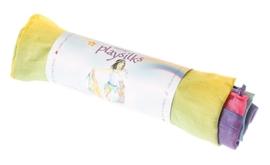 Sarah's Silks - Mini speelzijde 52x52 cm, regenboogkleuren - 85023