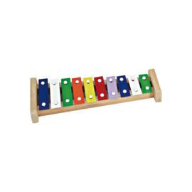 Ostheimer -  Kwalitatieve Xylofoon met mooie heldere klank - 10 latjes - 10073