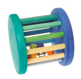 Grimm's - Muzikale roller, blauw groen - 08502 - LAATSTE STUK, gaat uit assortiment bij Grimm's