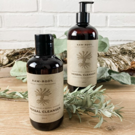 RAW ROOTs - Herbal Cleanser Shampoo voor normaal tot vet haar of dreadlocks - 200 ml of 500 ml