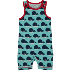 Maxomorra - Playsuit Short - Whale