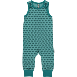 Maxomorra - Playsuit - Toothed Whale - 50/56, 62/68, 74/80