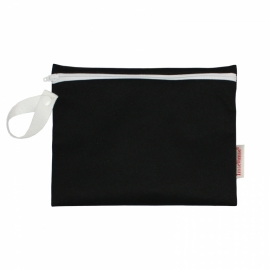 Imse Vimse - Tasje wetbag voor maandverband, cup of zoogcompres - Zwart
