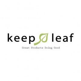 Keep Leaf - Toilet tas met waterafstotende lining  - Print Geo, 20 x 30,5 x 7,5 cm