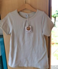 Maxomorra - T-shirt Short Sleeve  A-Line - Light Grey - 122/128