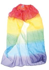 Sarah's Silks - Cape in zijde, regenboogkleuren - 83011