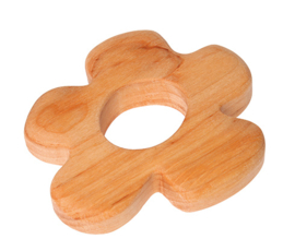 Grimm's - Grijpspeelgoed in zacht hout, bloem - 08128