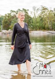 MaM Ennea - Longsleeve wikkel top - L/XL (ook bruikbaar bij zwangerschap / borstvoeding)