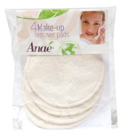 Anae - Wasbare wattenschijfjes biokatoen - 4 stuks