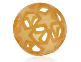 Hevea -  Speelbal in natuurrubber - Natuur, Donkergrijs of Frambozenrood