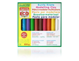 Okonorm - Boetseerklei 10 kleuren - 220 gram