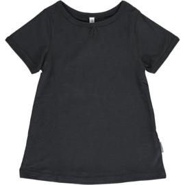 Maxomorra - T-shirt Short Sleeve  A-Line - Black - 134/140